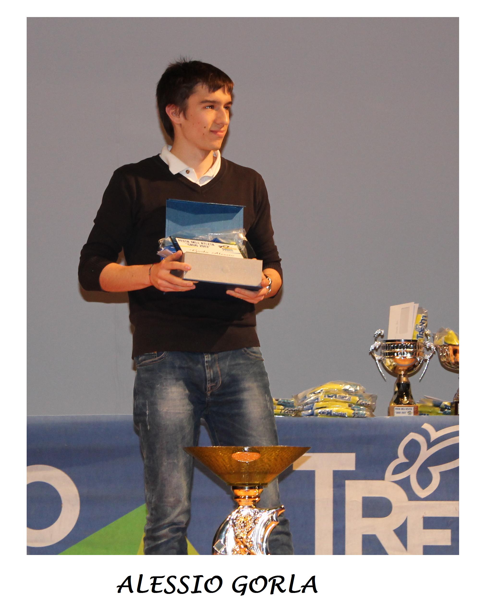 ALESSIO GORLA ATLETA DELL' ANNO 2013!