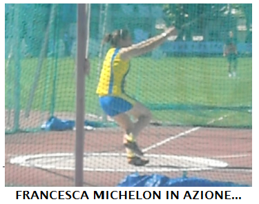 IL MARTELLO DI FRANCESCA MICHELON VOLE A 41,35m: