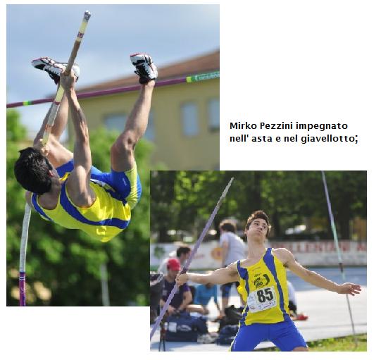 MIRKO PEZZINI CAMPIONE REGIONALE NEL DECATHLON JUNIOR: