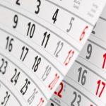 Calendario gare di maggio e giugno