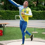 Mario d'antonio 2^ ai Campionati Italiani Estivi di Pentathlon Lanci.