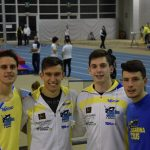 I velocisti trascinati da Battan colorano di giallo-blu il rettilineo di Udine