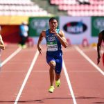 Per LORENZO PAISSAN una semifinale nei 100m e la finale in staffetta è un'esperienza Mondiale.