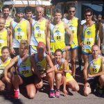 Il 22 luglio 2018, 150 atleti assieme al Lagarina CRUS Team lassù sull'Altissimo