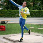Mario D'Antonio è 3^ nel Getto del Peso nei Campionati Italiani Bancari