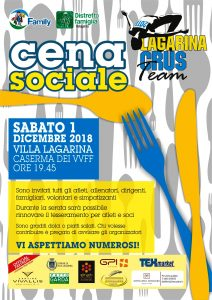 Cena sociale @ Caserma VVF | Villa Lagarina | Trentino-Alto Adige | Italia