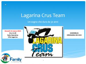 Assemblea Ordinaria @ sede operativa Lagarina Crus Team presso il Parco dei Sorrisi di Villa Lagarina   Villa Lagarina   Trentino-Alto Adige   Italia