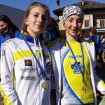 Al Trofeo Pizzeria Belvedere Lisa Bottanelli e Elena Schelfi sono Campioni Provinciali di cross a st...