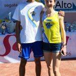 Elena Schelfi e Daniel Rocca campioni trentini 2019 di cross CSI.
