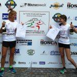 Carlotta nona Junior ai Campionati Italiani di corsa su strada, Monica 5^ SF45.