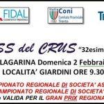 Domenica 2 Febbraio il CROSS del CRUS assegna i CDS Master e 1^ prova CDS Assoluti