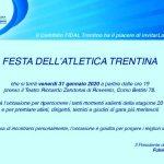 Anche la festa dell'atletica Trentina incorona Paissan - premiati anche Galvagnini, Ciech, Rocca, D'...