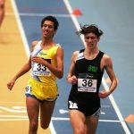 Daniel Rocca Vice Campione Italiano Junior dei 1500 - e Bronzo negli 800